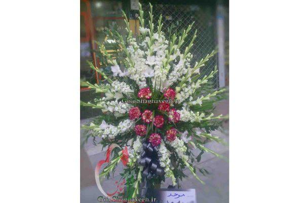 پایه گل ترحیم کوچک