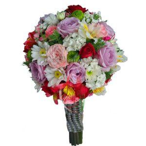 دسته گل عروس ترکیبی