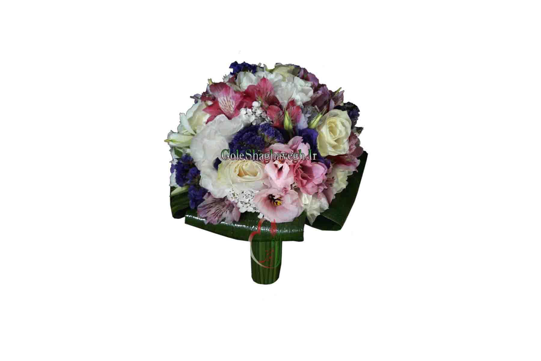 دسته گل عروس مختلط