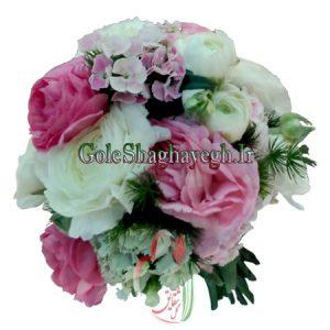 دسته گل عروس گل صدتومنی