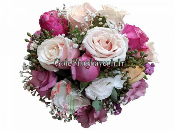دسته گل عروس AT035