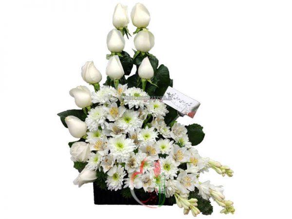 سبد گل کوچک ترحیم 1